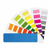 color chart vector (pantone)
