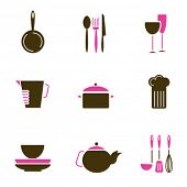 kitchenware object set