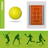 tennis design elements