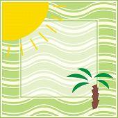 Summer Frame poster