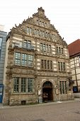 Historic Building In Hamelin, Germany