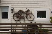 Bicycle House Decoration, Bolinas, Marin County