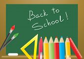 Vector illustration of back to school