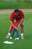 Golfing Girl- Teaching