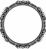 Victorian Circle Frame