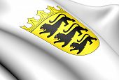 Baden-wurttemberg Coat Of Arms, Germany.