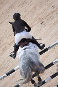 VALENCIA, SPAIN - MAY 8: Rider Laura Kraut, Horse Tortola, USA in the Global Champions Tour Valencia