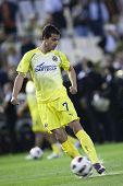 VALENCIA, Spanien - 10. APRIL: Nilmar in der spanischen Fußball-Liga zwischen Valencia c.f. Vs Villarrea