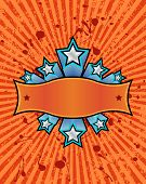 Star Banner - Orange.Eps