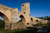 Roman Bridge in Frias