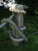 Nautical Fence Post