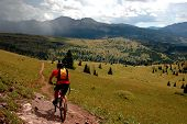 MTN Biken den Colorado-trail