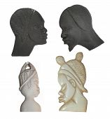 Ancient African Figures poster