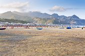 Urban Beach In Sicily