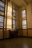 Abandoned Library At Alcatraz