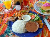 Lunch In Belize