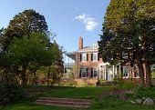 Old Mansion In Spring