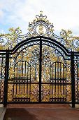 picture of tsarskoe  - Golden gate in Tsarskoe Selo Russia  - JPG