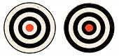 Vintage Vector Set Icons Of Targets. Retro Illustration Of Vintage Targets. poster