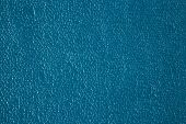Background Texture Wall Plaster Barbed Not Level Blue Putty Outdoor poster