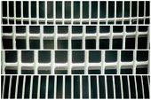 Steel Ground Lattice. Stainless Steel Texture, Background For Web Site Or Mobile Devices. poster