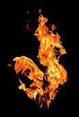 feuer Flames erhöhen hohe