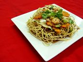 stock photo of pancit  - pancit canton - JPG
