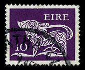 IRELAND-CIRCA 1977: A stamp printed in IRELAND shows image of