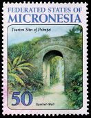 A 50-cent Stamp Printed In The Federated States Of Micronesia