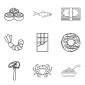 Tenderly Icons Set. Outline Set Of 9 Tenderly Vector Icons For Web Isolated On White Background poster