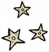 cartoon throwing stars