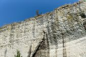 Kind Of A Steep Rock - Chalk And Limestone Rock. poster