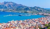 Summer Landscape Of Zakynthos Or Zante. This Greek Island In The Ionian Sea Is The Popular Tourist D poster