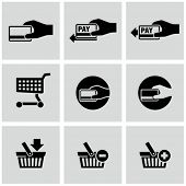 Payment icons set. E-commerce.