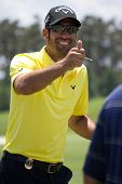 PONTE VEDRA BEACH, FL-MAY 09: Alvaro Quiros at The Players Championship, PGA Tour, on practice day May 09, 2012 at The TPC Sawgrass, Ponte Vedra Beach, Florida, USA.