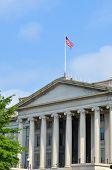 Washington DC - The Treasury Department Building