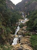 Ravana Falls Or Ravana Ella Waterfalls Is A Popular Sightseeing Attraction Near Ella Sri Lanka. Rava poster