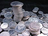 Moedas de prata
