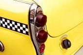 checkered cab