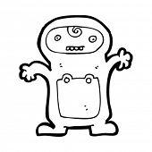 cartoon odd baby
