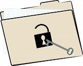 File Folder Unlocked W Key.
