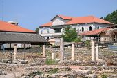 Important Archeological Place In Ohrid And Architecture From The Byzantine Period poster