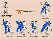 Judo and Jiu jitsu Martial art Techniques
