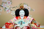 Japanese Traditional Doll, Known As Hina Doll poster