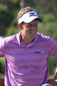 PONTE VEDRA BEACH, FL-MAY 08: Luke Donald at The Players Championship, PGA Tour, on practice day May