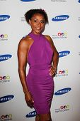 NEW YORK-JUNE 4: Olympian Dominique Dawes attends Samsung's Annual Hope for Children gala at the American Museum of Natural History on June 4, 2012 in New York City.