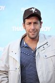 LOS  ANGELES- JUN 4: Adam Sandler at the premiere of Columbia Pictures' 'That's My Boy' at the Regency Village Theater on June 4, 2012 in Los Angeles, California