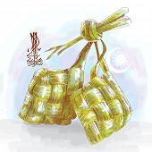 Ketupat, Muslim Traditional Rice Dumpling