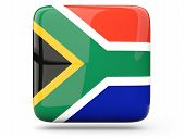 Square Icon Of South Africa