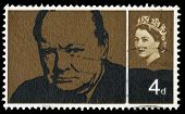 Selo britânico Sir Winston Churchill
